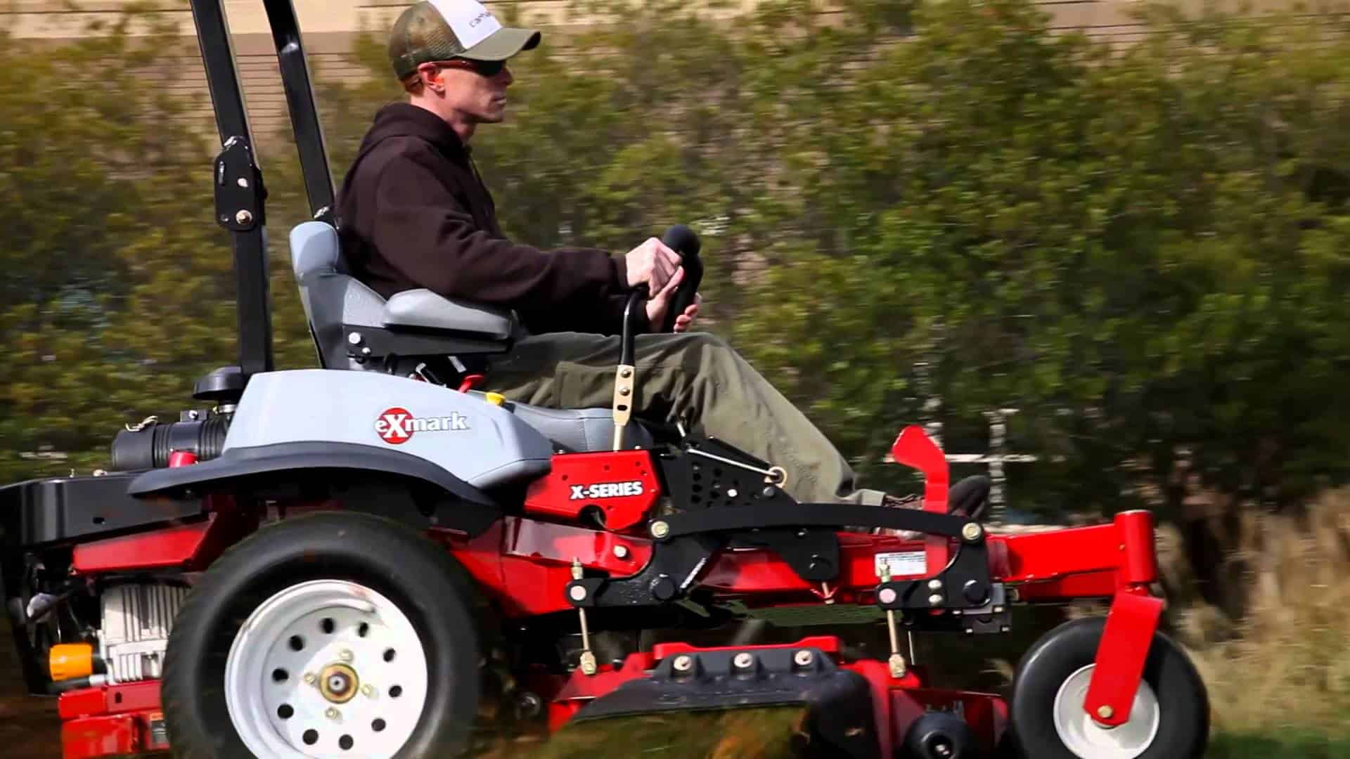 commercialmowerreviews.com - Exmark Laser Z X-Series Zero Turn Mower Review