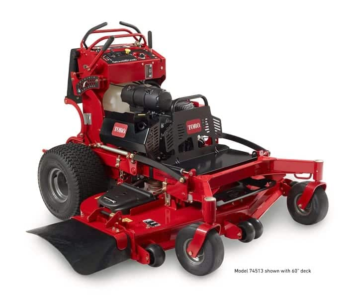 Toro Grandstand Stand On Mower Review - Commercial Mower Reviews