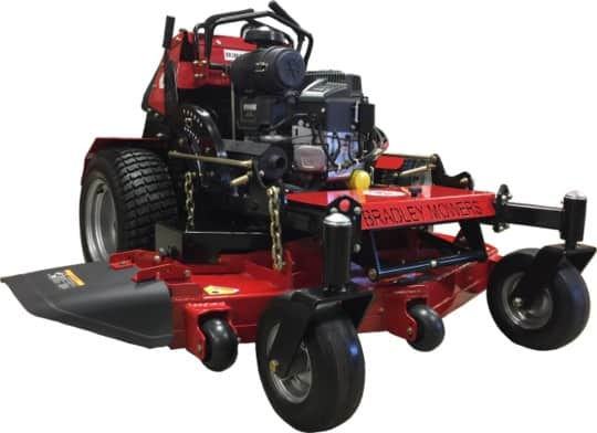 Bradley Stand On Mower Reivew