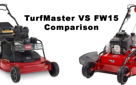 turfmaster vs fw15 review