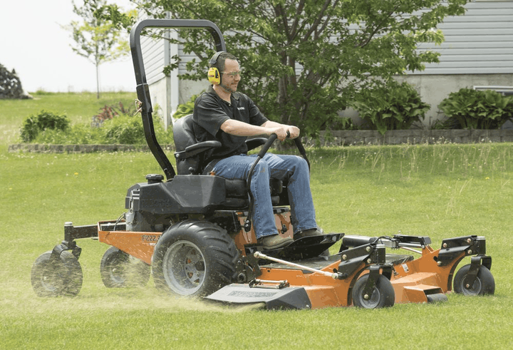 woods zero turn mower review