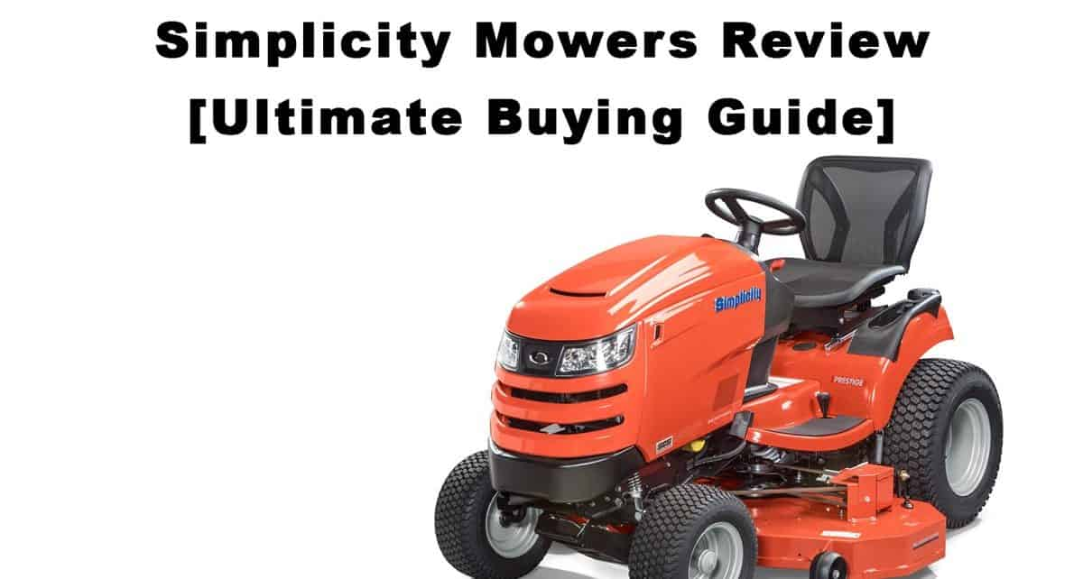 Simplicity Mower Guide