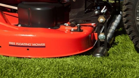 Free Floating Deck Commercial Mower