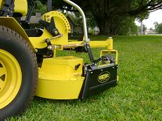 qwick chute blocker on mower